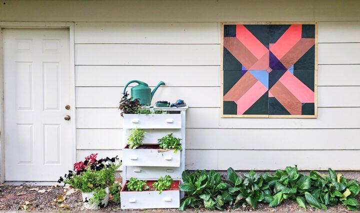 DIY Square Barn Quilt