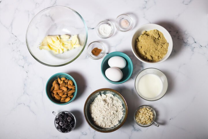 blueberry cake ingredients