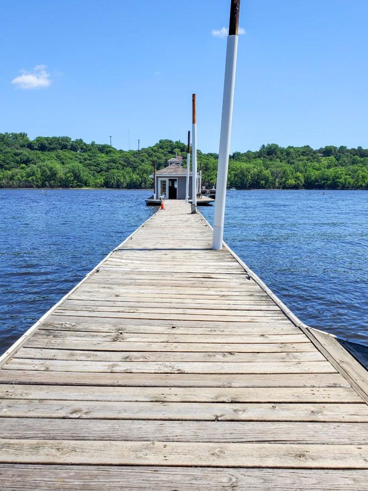 Stillwater Boat Rental empty dock
