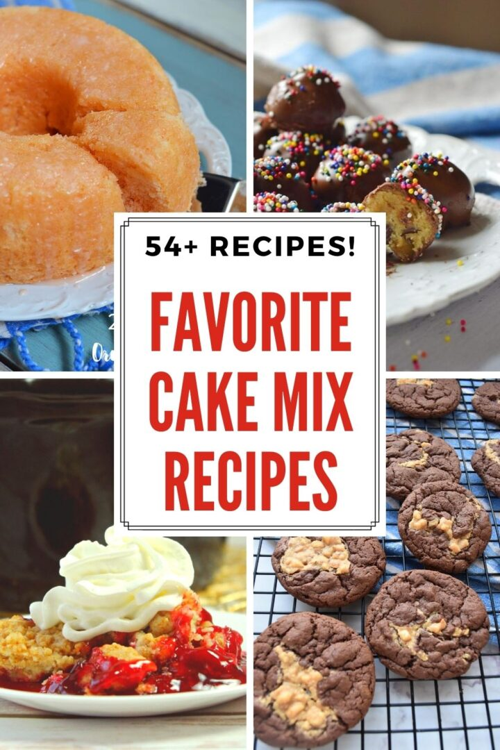 Cake mix recipes for everyone!