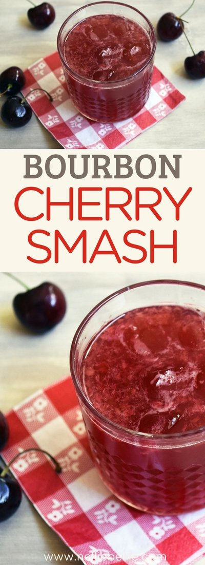 an easy fruity cocktail perfect for making up for crowds and parties! #cocktail #fruity #cherry