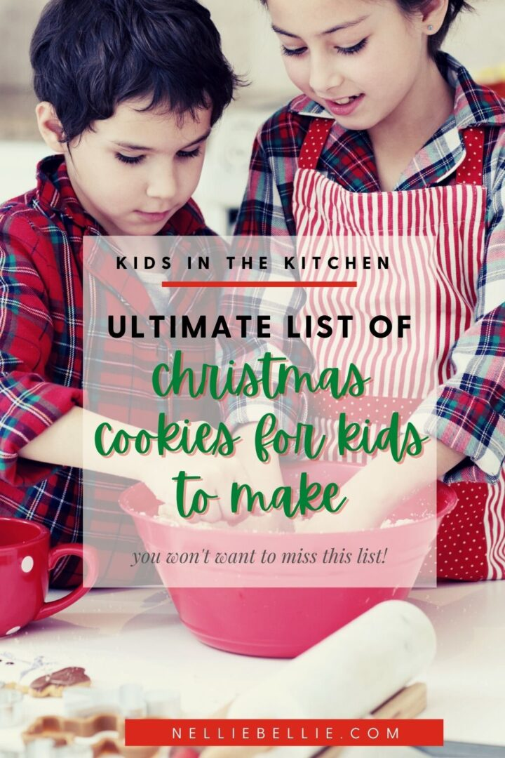 This list of Christmas Cookies for kids to make features lots of no-bake options, and easy recipes perfect for little ones to make by themselves or with light supervision. Get the kids in the kitchen making Christmas Cookies!