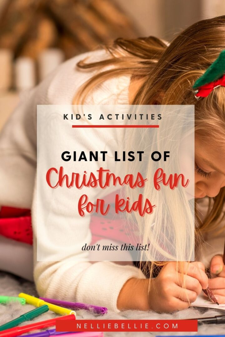 A great list of fun activities for kids! Christmas printables, websites, activities, and recipes for kids to do.