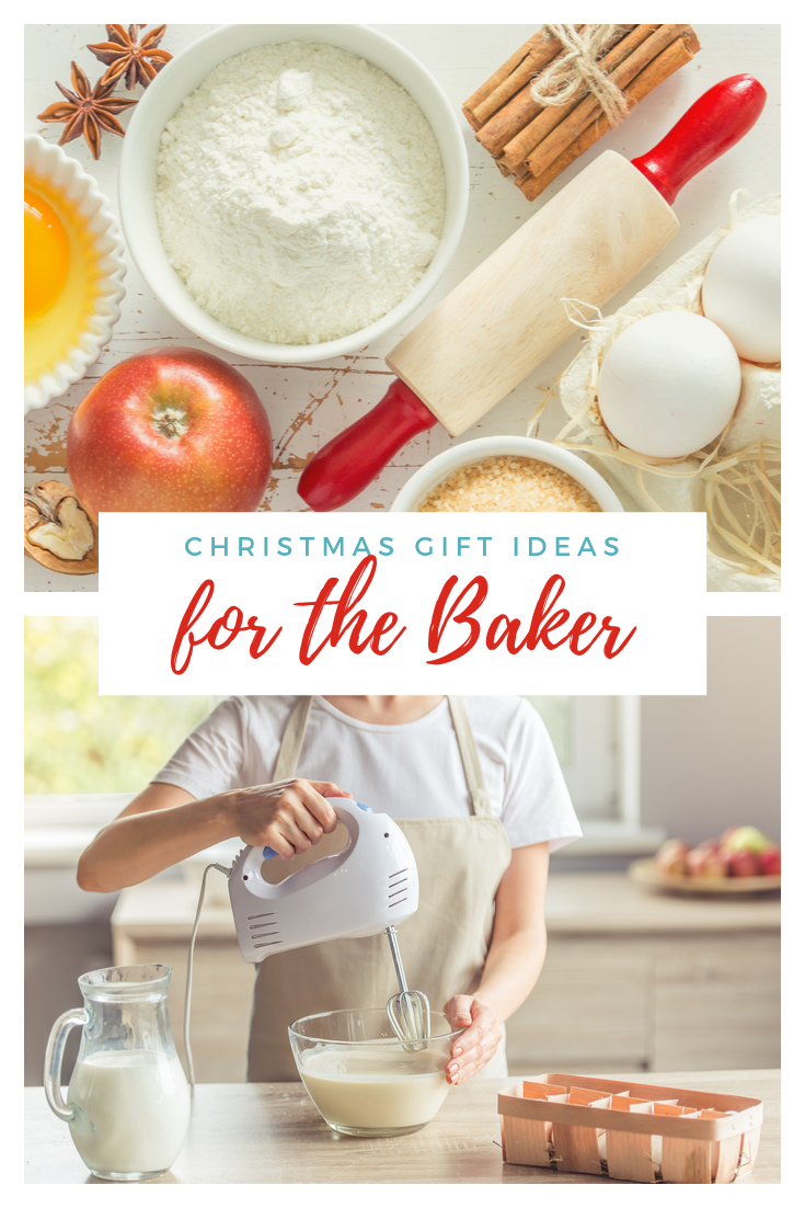 Great gift ideas for the baker that can be delivered quickly! #giftguide #baker #giftideas
