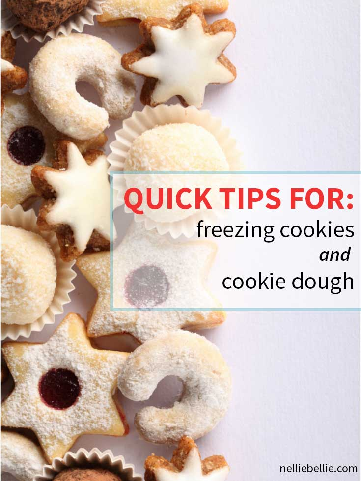 Quick tips for freezing cookies and cookie dough