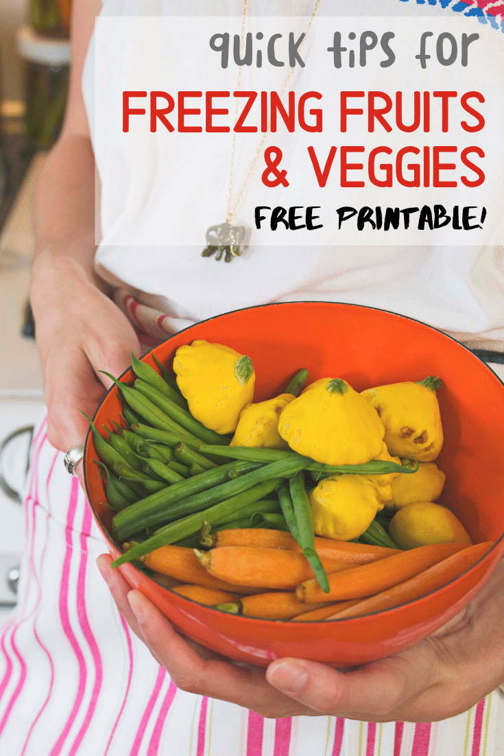 Janel Hutton from NellieBellie gives quick tips for freezing fruits and veggies.