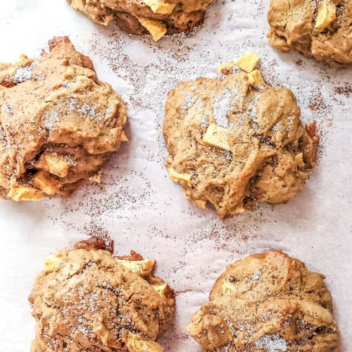 double ginger and apple cookies. #cookies #ginger #apple