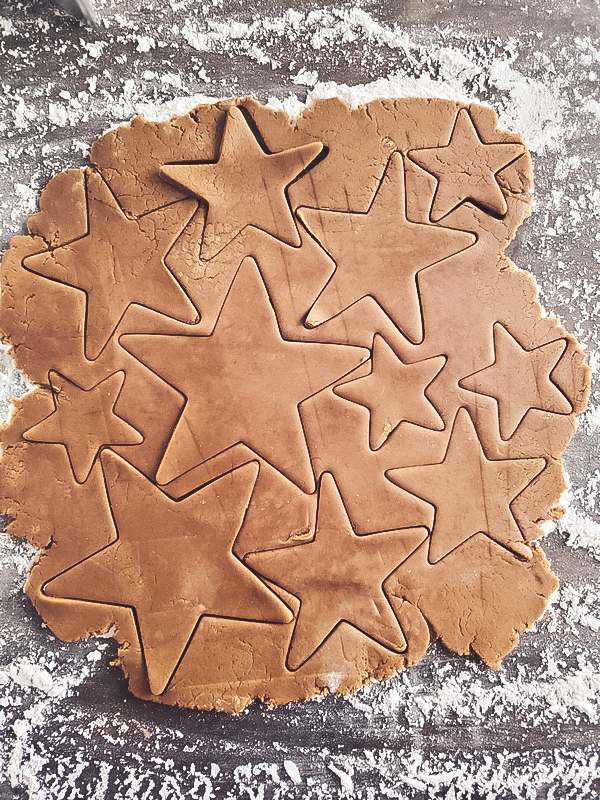 gingerbread cookie recipe perfect for cutouts