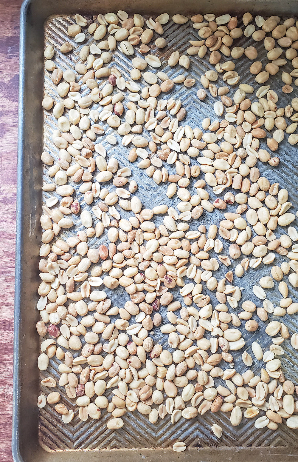 roasting peanuts for peanut butter