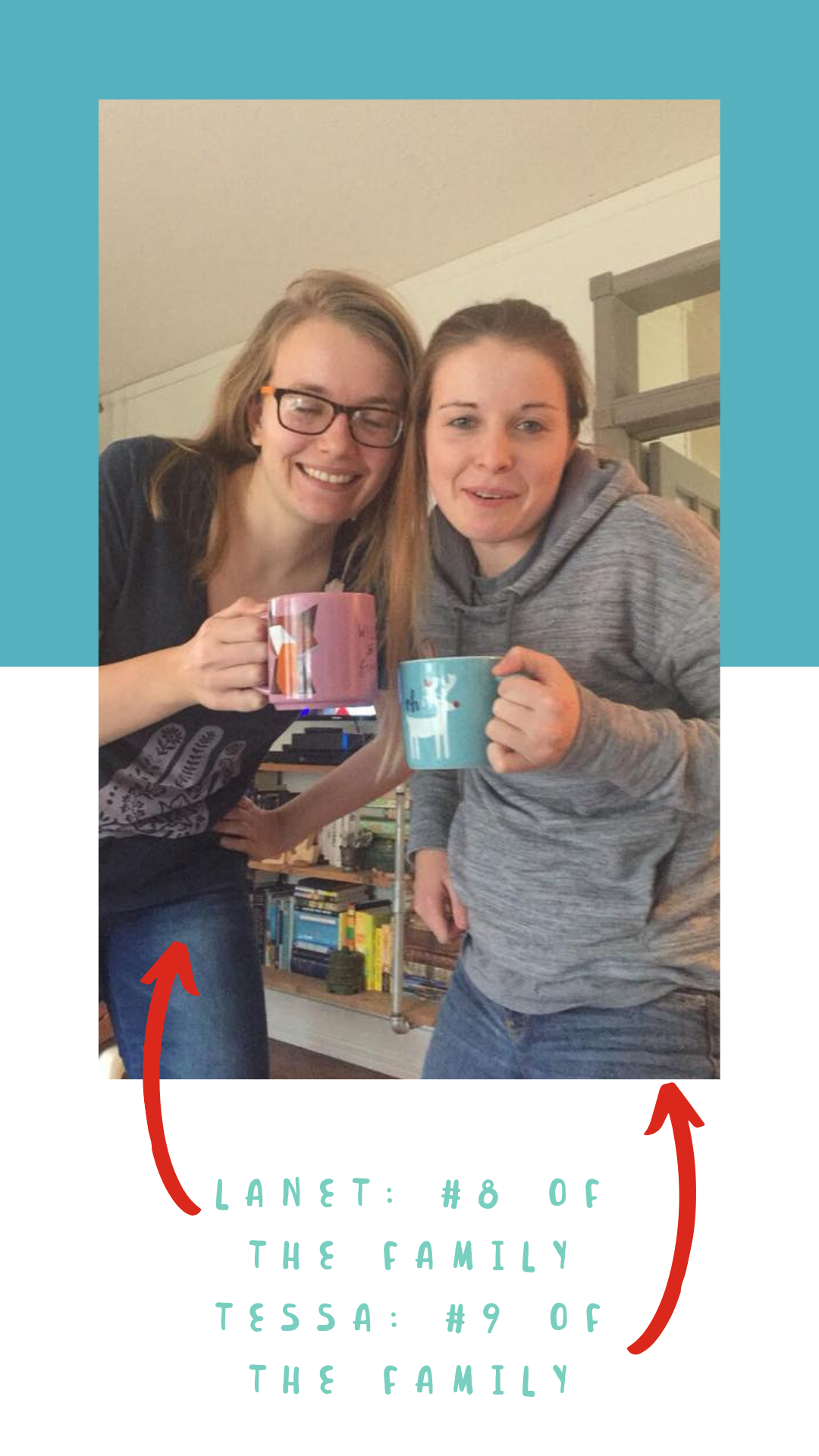 lanet and tessa with their coffee