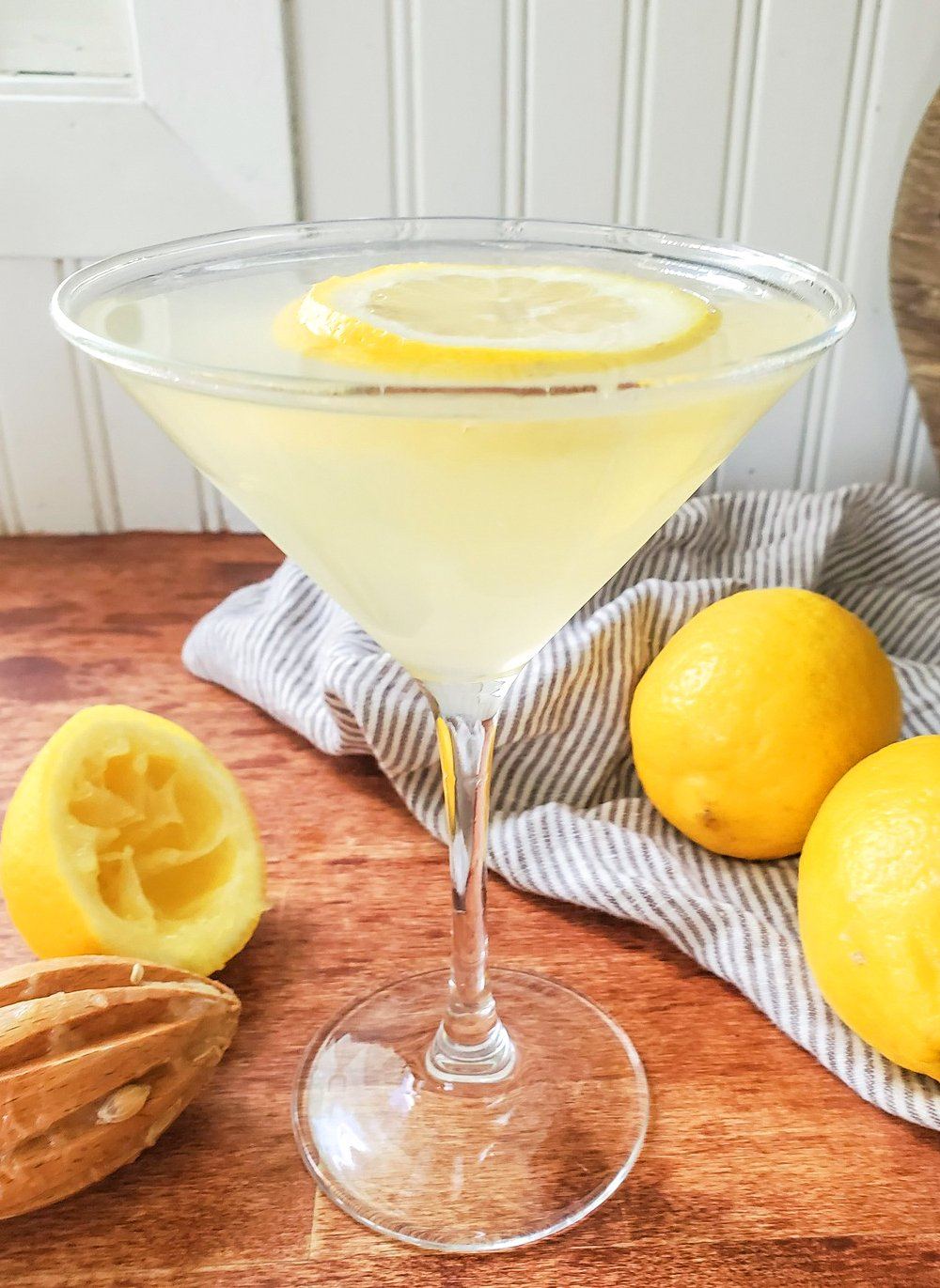a Lemon Drop martini