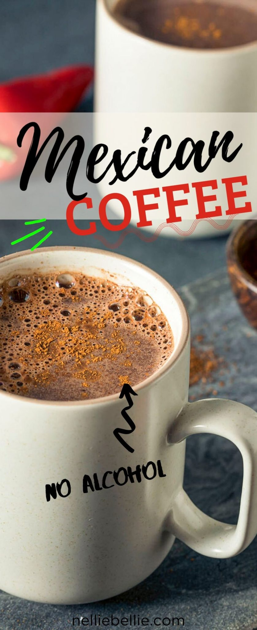 An easy homemade recipe for Hot Mexican Coffee. #coffee #recipe #easy #homemade #hot