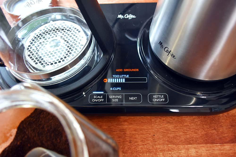 Mr. Coffee pour-over machine.