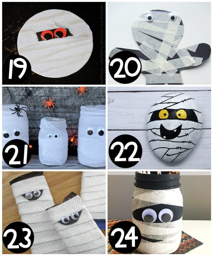 Easy Halloween crafts for kids!