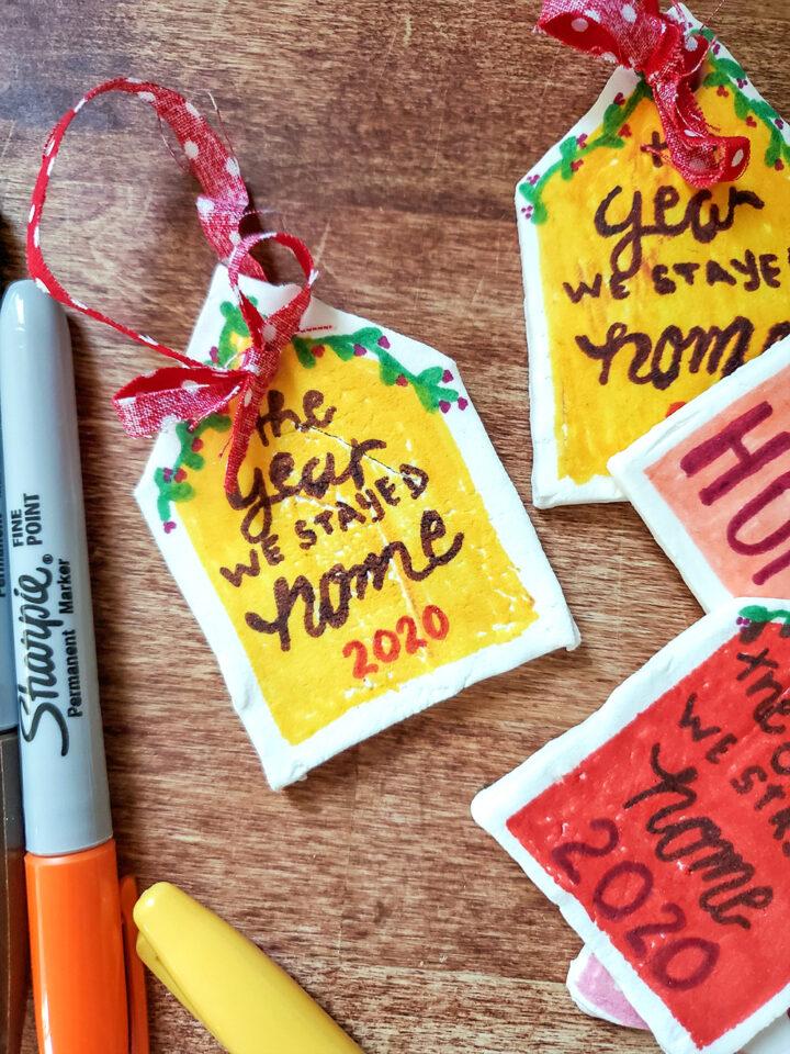 2020 DIY Christmas Ornament