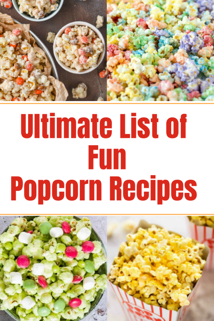 Ultimate list of popcorn recipes you need to try!