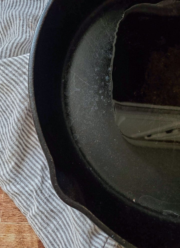 cast iron pan for Guinness beef roast
