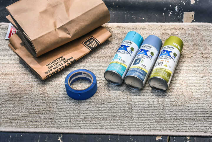 Materials for the DIY Welcome Mat
